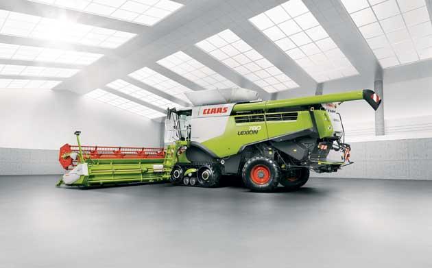 159732 31 opt Las nuevas Lexion ya cosechan en los campos argentinos