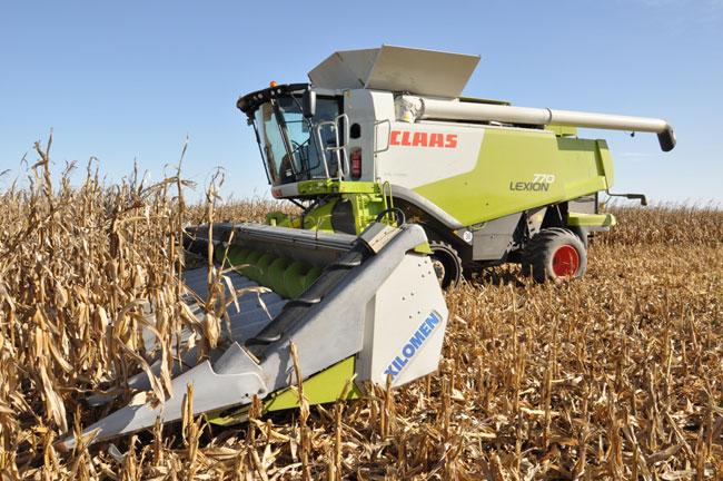 2012 07 interior export CLAAS exporta maiceros y girasoleros a todo el mundo