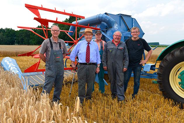 417014 25 opt Murió el pionero de la maquinaria agrícola, <br/>Helmut Claas