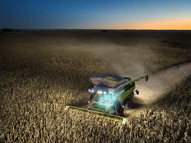 6 opt 1 Las cosechadoras más potentes del mundo llegaron a América Latina