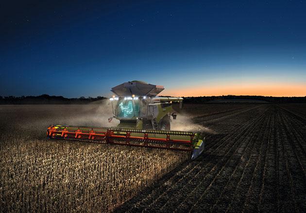 7 opt 1 Las cosechadoras más potentes del mundo llegaron a América Latina