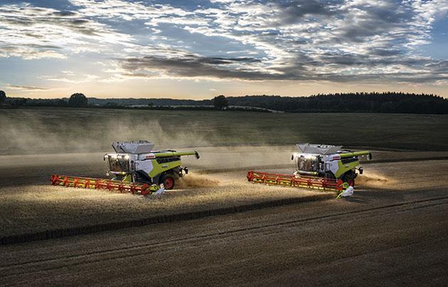 8 opt 1 Las cosechadoras más potentes del mundo llegaron a América Latina