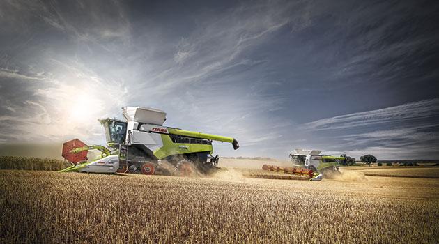 9 opt 1 Las cosechadoras más potentes del mundo llegaron a América Latina
