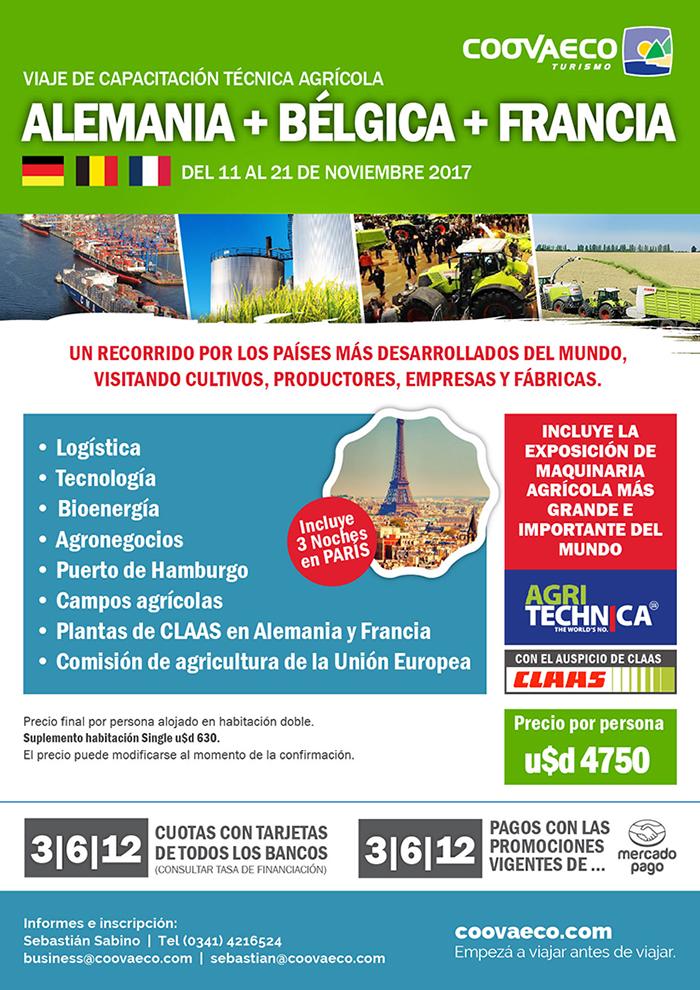 ALEMANIA 02 Viaje de capacitación técnica agrícola