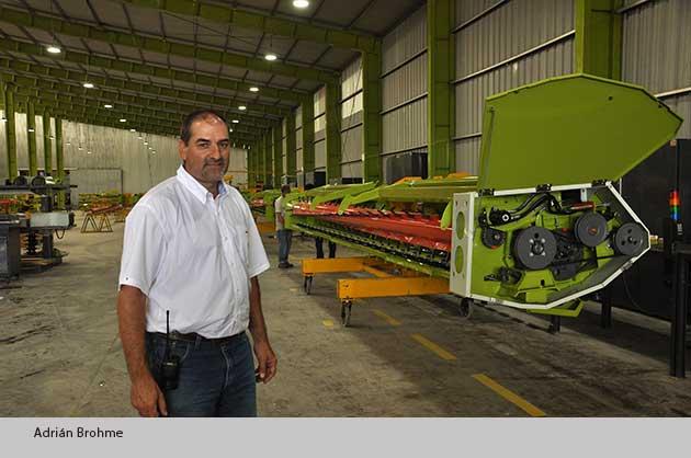 Adrian Brohme 01 opt CLAAS celebrará la innovación argentina en la Rural