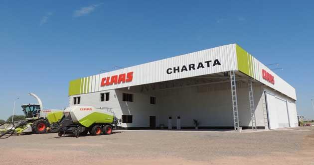 Charata 2014 2 opt CLAAS inauguró la ampliación de su depósito en Charata