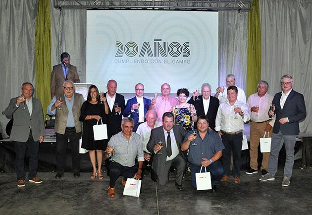 Empleados 20anos opt CLAAS celebró sus 20 años en Argentina