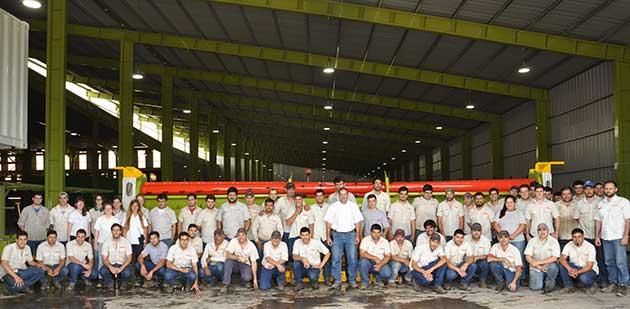 Grupal Fabrica 02 opt CLAAS celebrará la innovación argentina en la Rural