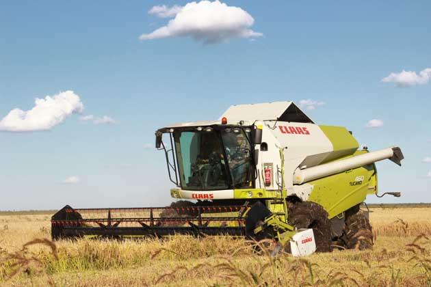 IMG 1324 opt CLAAS presentó su nueva cosechadora arrocera