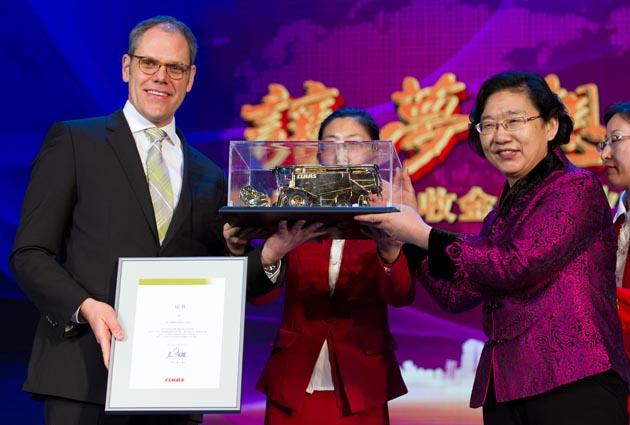 claas jinyee cc 140123 fg01 opt CLAAS compró la fábrica china de maquinaria agrícola Jinyee