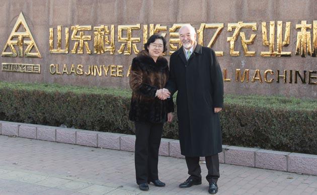 claas jinyee cc 140123 fg09 opt CLAAS compró la fábrica china de maquinaria agrícola Jinyee