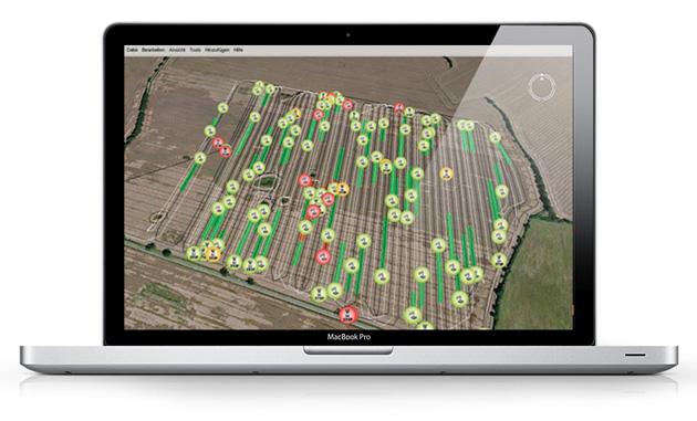 compu telematic Nubes de datos que ponen a los equipos agrícolas sobre<br>la tierra