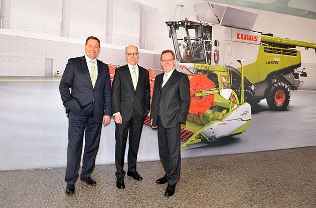 directivoa claas opt CLAAS permanece fuerte a pesar de la debilidad constante de los mercados del mundo