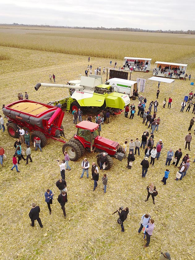 ec 16 06 17 DRONE 36 opt CLAAS convoca a un nuevo encuentro de capacitación en forrajes y cosecha