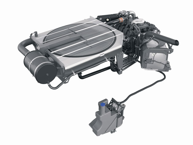 esquema Motores que exhalan aire puro