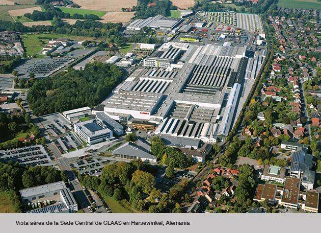 harsewinkel planta opt CLAAS construirá un nuevo centro de pruebas en Alemania