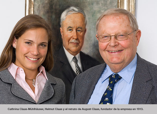 helmut  cia opt 2 Helmut Claas fue galardonado con la Medalla Diesel