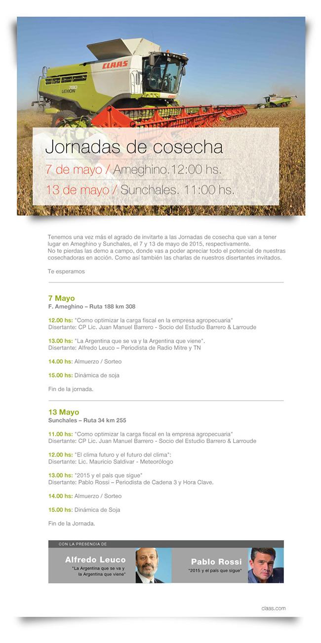 invitacion jorn cosech blog Jornadas de cosecha