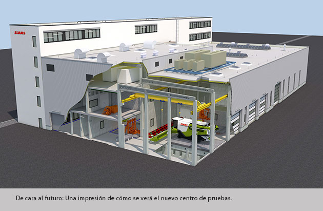 new plant CLAAS construirá un nuevo centro de pruebas en Alemania
