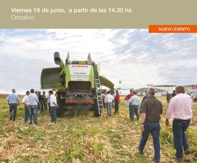 placa cosech CLAAS Argentina pone a disposición toda su Experiencia en cosecha y forrajes