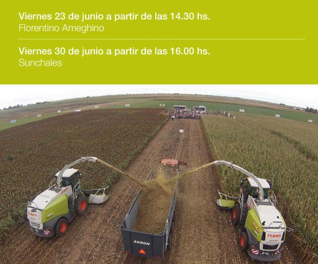 placa forraj CLAAS Argentina pone a disposición toda su Experiencia en cosecha y forrajes