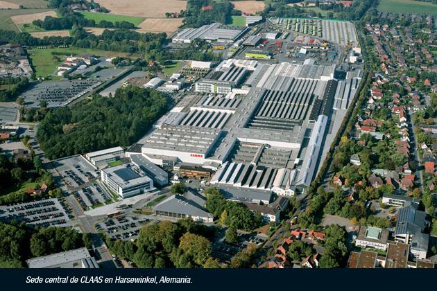 planta aerea 2014 opt copy En un año difícil, CLAAS aumentó su participación en los mercados