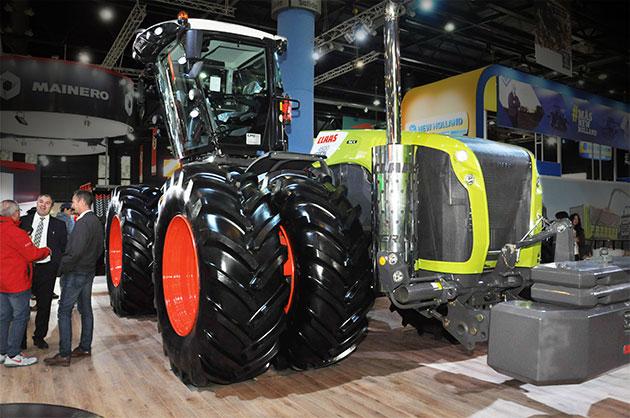 rural 2017 3 CLAAS introduce sus tractores en la Argentina y presenta nuevas series de cosechadoras y picadoras