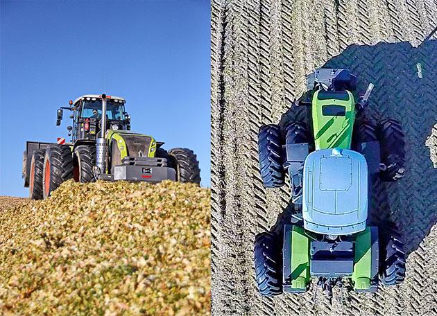 xerion x2 La versatilidad de un tractor expresada en términos forrajeros